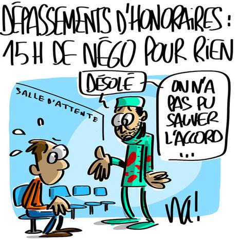 Dépassements d'honoraires, 15 heures de négociations pour rien | Baie d'humour | Scoop.it