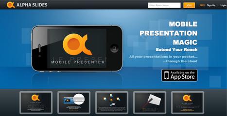 Alpha Slides -The Best Way to Present | Emerging Digital Workflows [ @zbutcher ] | Scoop.it