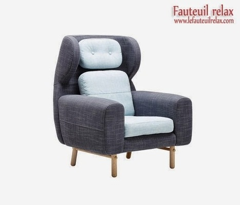Fauteuil design Scandinave AYO |Fauteuil relax | fauteuil relax | Scoop.it