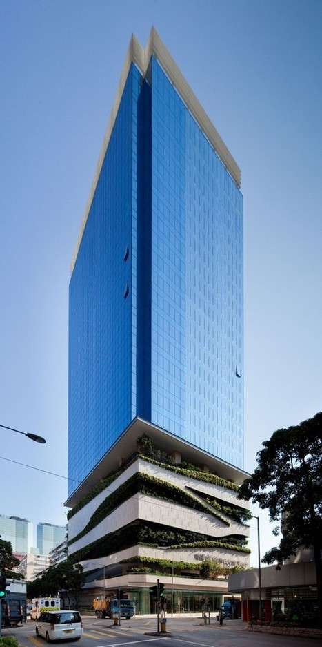 18 Kowloon East, Hong Kong, by Aedas | sustainable architecture | Scoop.it