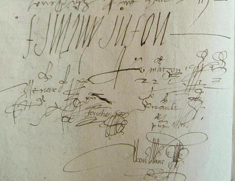 MODES de VIE aux 16e, 17e siècles » Archive du blog » Réméré sur Simone de Montortier, épouse Lemasson et fille de Marie Du Moulinet, Champteussé sur Baconne 1559 | blog de Jobris | Scoop.it