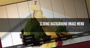 Sliding Background Image Menu with jQuery | SPIP - cms, javascripts et copyleft | Scoop.it