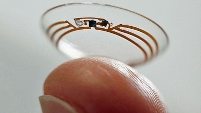 Google contact lens could help diabetics track glucose | Innovation | Scoop.it