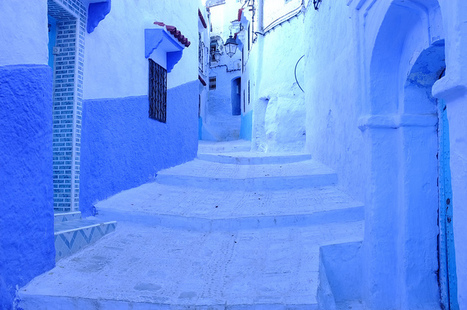 Chefchaouen – Blue Morocco | Matthew Maddock | Fuji X-Pro1 | Scoop.it