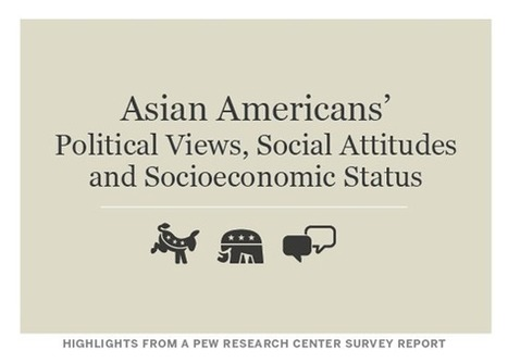 Asian Americans' Political Views, Social Attitudes and Socioeconomic Status Introduction – Pew Forum on Religion & Public Life | APGOPO | Scoop.it