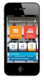Hubstart Paris Region lance son application mobile | Médias sociaux et tourisme | Scoop.it
