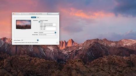 macOS Sierra: Probleme mit externen Displays | Mac in der Schule | Scoop.it