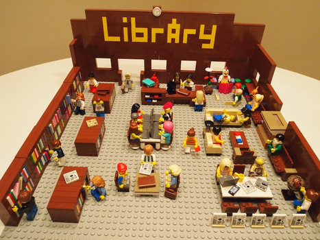 The Library in Lego Form (aka the absolute last post I will write about Lego librarians) | Bibliotecas y Documentación | Scoop.it