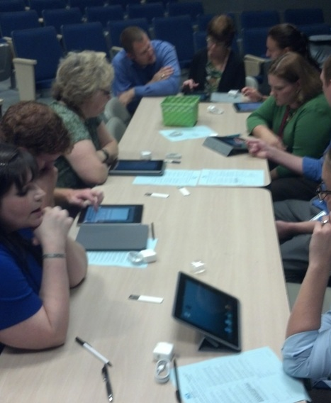 Horry County middle school teachers get iPads - WBTW - Myrtle Beach and Florence SC | The School on the Tablet | Scoop.it