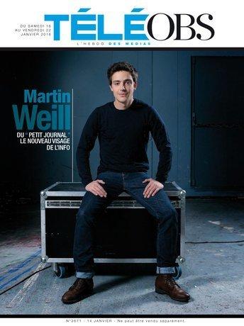 Martin Weill (86e promo ESJ Lille), nouveau visage de l'info   DocPresseESJ   Scoop.it
