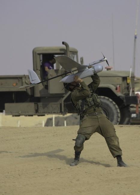 IDF Handheld Drones | Emergent Digital Practices | Scoop.it
