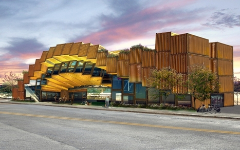 Eco-Friendly Architecture: 13 Buildings Made From Recycled Shipping Containers | Sustain Our Earth | Scoop.it
