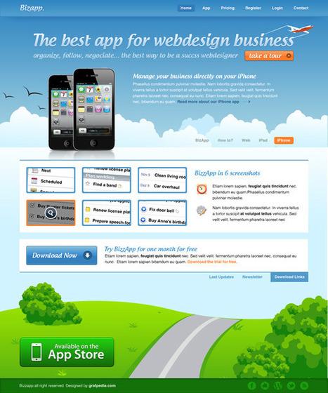 Créer une interface graphique pour iPhone App   yes, itize   Scoop.it
