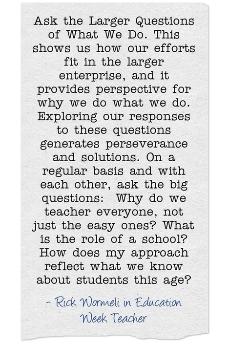The Kind of Professional Development We Need - Part Two   Leading Schools   Scoop.it