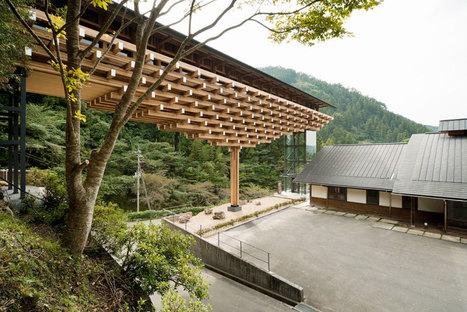 kengo kuma + associates: yusuhara wooden bridge museum | Rendons visibles l'architecture et les architectes | Scoop.it
