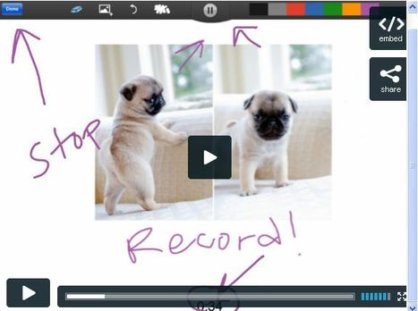 How To: Record, Save, Trim and Share your ShowMe | Al calor del Caribe | Scoop.it
