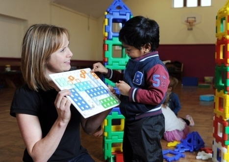 Making maths fun is all in a day's work - Shoreham Herald | Early Years Education | Scoop.it