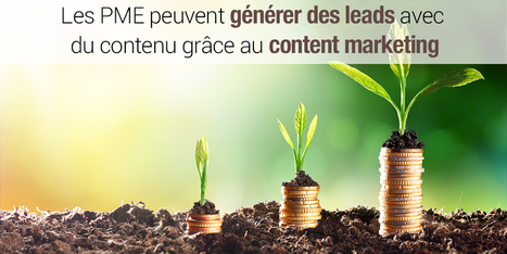 Générer des leads avec son contenu quand on est une PME | La com des PME dynamiques | Scoop.it