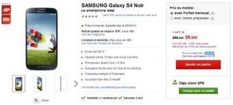 Le Samsung Galaxy S4 en précommande chez SFR | système d'exploitation des mobiles | Scoop.it
