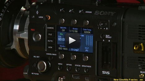 Here's a link to an informative 18 min video about the Sony F5 and F55 | 4k workflow | Scoop.it