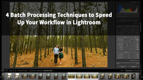 4 Batch Processing Techniques to Speed Up Your Workflow in Lightroom | Photography Stuff For You | Scoop.it