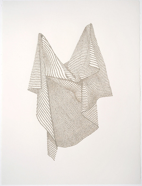 New #Text #Drawings Formed by #Letters From #Religious Texts by Meg Hitchcock. #art | Luby Art | Scoop.it