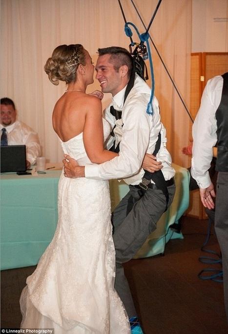 Paraplégique, il se lève pour danser à son mariage | Handicap | Scoop.it