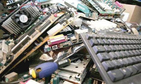 Recyclage des déchets informatiques - LE MATiN | Le numérique et la ruralité | Scoop.it
