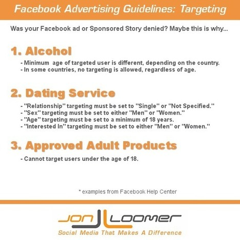 Facebook Advertising Guidelines: Targeting | Debra's Social Media Resources | Scoop.it