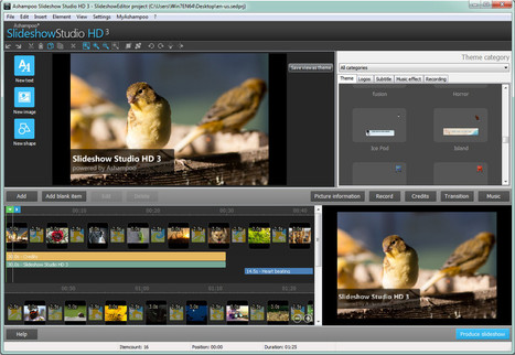 Easily create and share animated slideshows in high definition with Ashampoo Slideshow Studio HD 3 | Best Free Software | Scoop.it