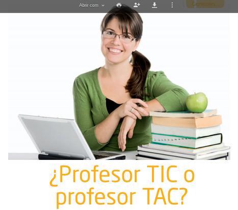 Professor TIC ou Professor TAC? | Yo Profesor | Educação e Web | Scoop.it