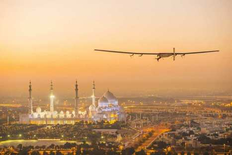 Solar Impulse 2 a entamé son aventure autour du monde | Green Attitude | Scoop.it