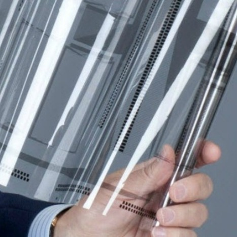 Flexible Touchscreen Could Prompt Sleeker, Curvier Tablets, Smartphones | NEW TECHNOLOGY | Scoop.it