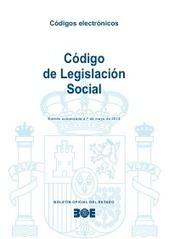 BOE.es - Código de Legislación Social | Derechofol | Scoop.it