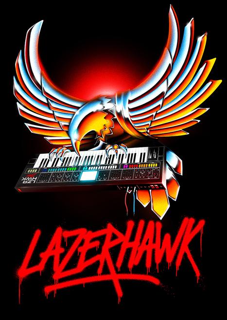 OVERGLOW - RETROFUTURISTIC ARTWORK   Heart is a Lock, Music is the Key   Scoop.it