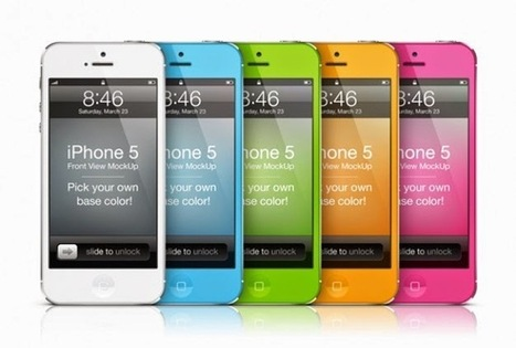Vektörel iPhone Mockup | Vektorel cizimler | Scoop.it