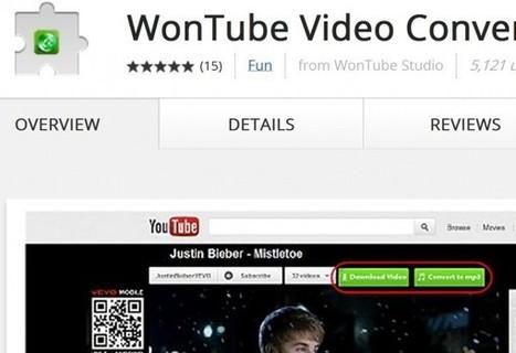 Wontube – Conversor de formato de vídeo con extensión para Chrome | EDUDIARI 2.0 DE jluisbloc | Scoop.it