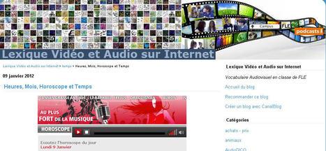 Lexique Vidéo et Audio: Heures, Mois, Horoscope et Temps | Langues Education | Scoop.it