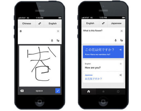 Google Translate iOS app updated with new UI, handwriting support | Technology in Business | Scoop.it