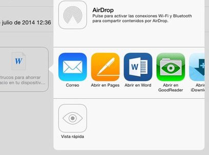 6 consejos para ahorrar espacio en tu dispositivo iOS | IPad en educación | Scoop.it