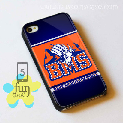 BMS Blue Mountain State iPhone 5 Case Cover from Funcases | Sport Merchandise | Scoop.it