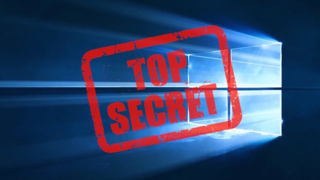 Windows 10 : comment débloquer les paramètres secrets | Gestion de l'information | Scoop.it