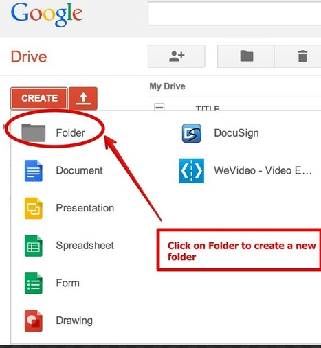 Share Docs and Assignments with Students Using Google Drive Shared Folders | Techy Tips | Scoop.it