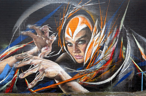 Adnate x Shida New Mural - Wollongong, Australia | Culture and Fun - Art | Scoop.it