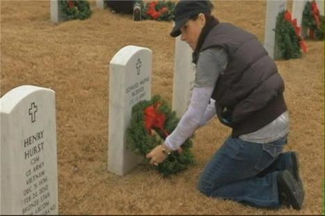 Killeen residents honor military dead with wreath laying - YNN, Your News Now | Veterans Info | Scoop.it