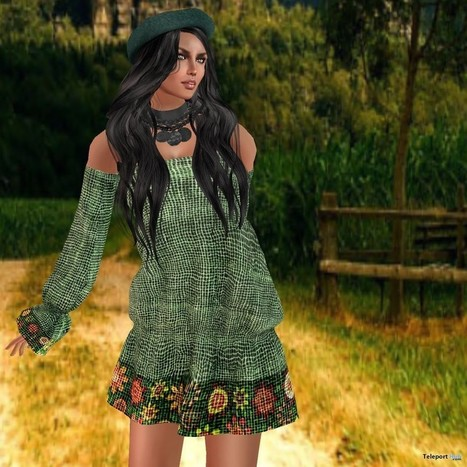 Lua in Clover by Journey Dress MIMI Choice's Group Gift by Prism | Teleport Hub - Second Life Freebies | Second Life Freebies | Scoop.it
