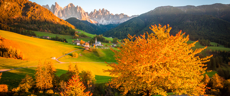Fall foliage trip in Italian paradises | Italia Mia | Scoop.it