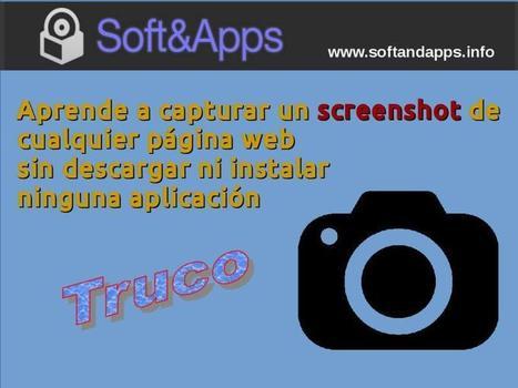 Cómo capturar screenshots de sitios web desde el navegador | Estoy explorando | Scoop.it