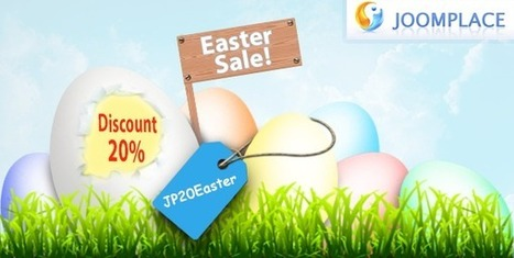 Celebrate Easter With JoomPlace! Save 20% | JoomPlace Blog | Scoop.it