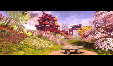 Asian Victorian Gardens   Second Life Today   Scoop.it